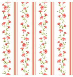 Color flower wallpaper vector image vector image