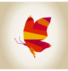 Abstract the butterfly2 vector