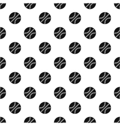 Basketball ball pattern simple style vector image