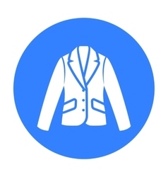 Business jacket icon of for vector image