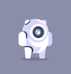 chat bot robot icon artificial intelligence vector image