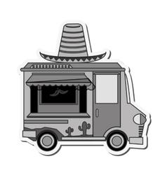 Food truck delivery design vector