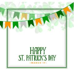 Happy st patricks day celebration background vector