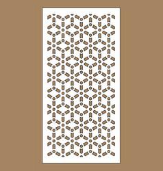 laser pattern decorative panel for vector image
