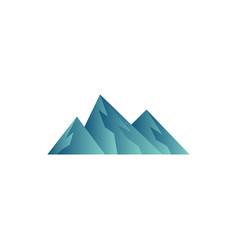 mountain icon design template vector image