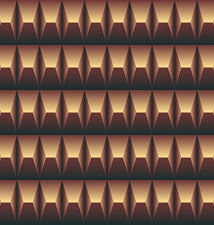 pattern seamless in the pyramid shape vector image