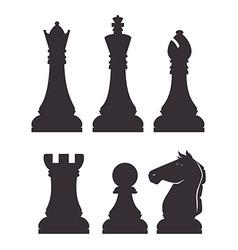 Chess design vector image