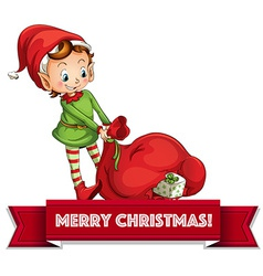 Merry Christmass vector image