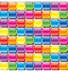 colorful buttons seamless vector image vector image
