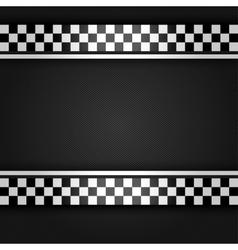 Metallic gray sheet vector image vector image