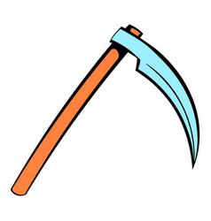death reaper icon icon cartoon vector image