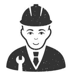 Developer Grainy Texture Icon vector