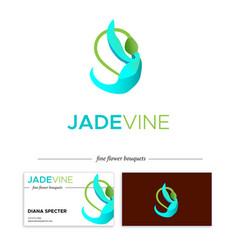 Jade vine vector