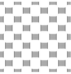 Perforated gate pattern vector