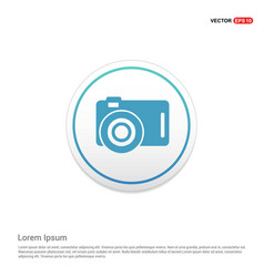 Photo camera icon hexa white background icon vector