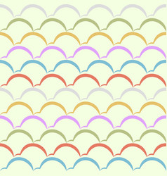 seamless pattern template eps 10 vector image