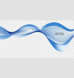 Smooth abstract border wave soft background vector