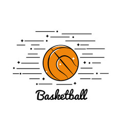 Symbol basketball play icon vector