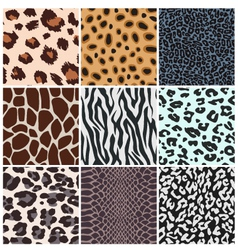 Animal skin seamless pattern vector