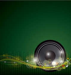Music background design vector image
