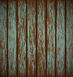 Old wall with shabby paint vector image vector image