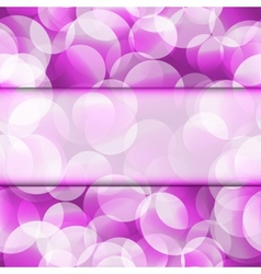 Abstract seamless purple frame vector image vector image