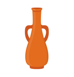 Ancient pottery vase jar amphora vector