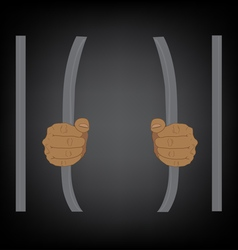 escape from prison vector image