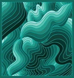 Green background volume vector