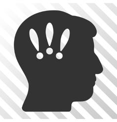 Head problems icon vector