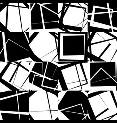 Mosaic of random scattered lines vector