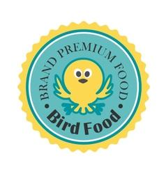 Premium bird food icon vector image