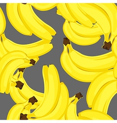 Ripe bananas seamless vector
