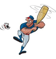 baseball stud vector image vector image