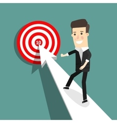 Business decision concept vector image