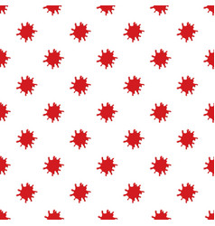 large pool of blood pattern vector image vector image