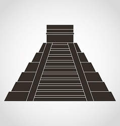 pyramid mexican vector image