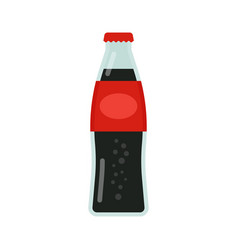 Bottle of soda drink icon vector
