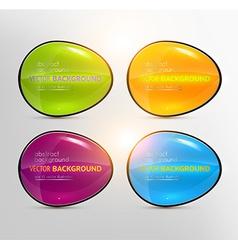 Bright Button Design Set vector
