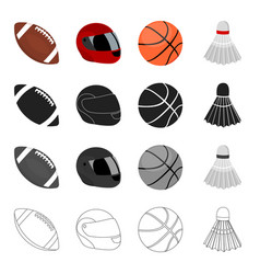 competitions training attributes and other web vector image