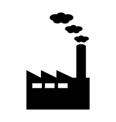 Factory icon vector