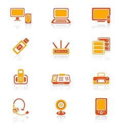 office electronics | juicy vector image