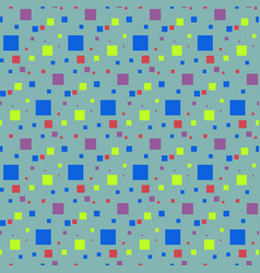 seamless pattern of small squares vector image