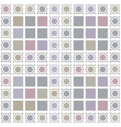 Abstract geometric seamless pattern with grey vector image vector image