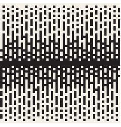 seamless irregular lines halftone black vector image