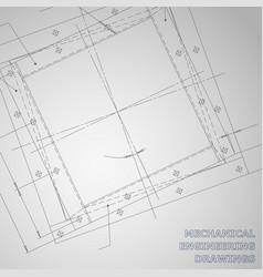 Subject gray background mechanical engineering vector