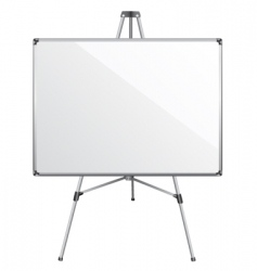 white board vector image vector image