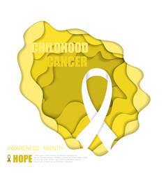 Childhood cancer background vector