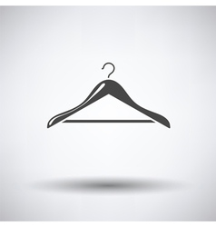 Cloth hanger icon vector image