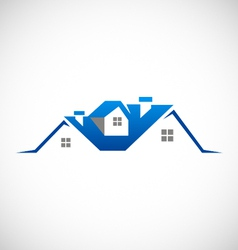 House realty property logo vector